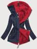 red || navy blue