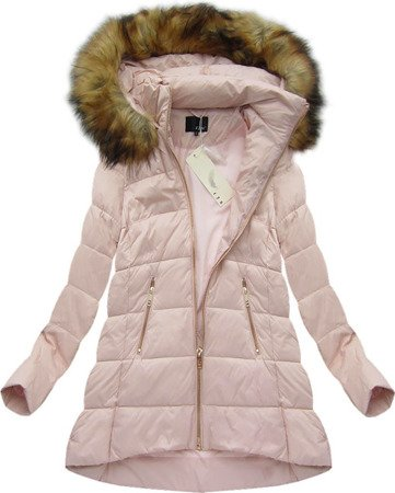 NATURAL DOWN QUILTED JACKET PINK (8070)