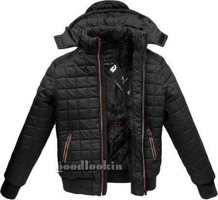 WINTER JACKET GO-START BLACK (22172M)