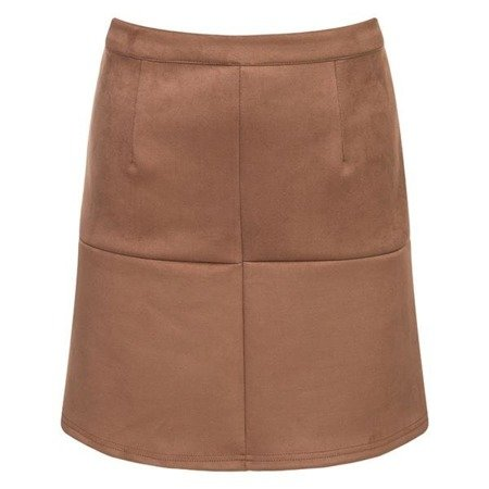 STITCH DETAIL SKIRT CAMEL (SP7)