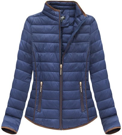 QUILTED JACKET NAVY BLUE (LD-7088BIG)