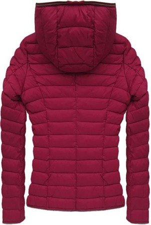 QUILTED JACKET WINE (7105)