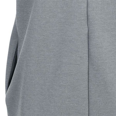 ZIP BACK SIMPLE DRESS GREY (S36)