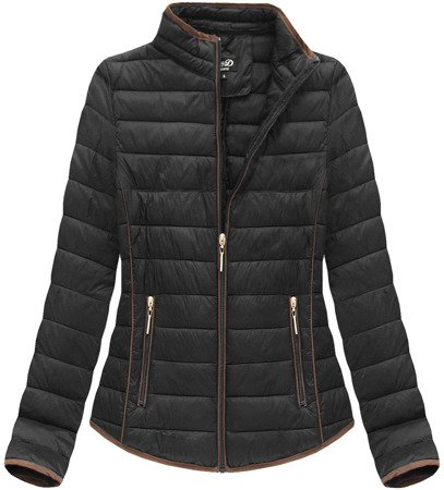 QUILTED JACKET BLACK (LD-7088BIG)
