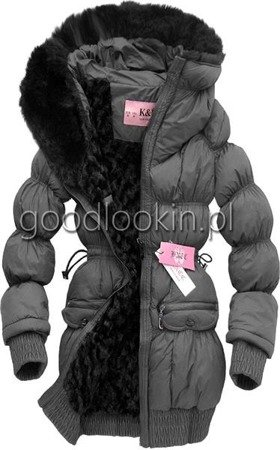 WINTER JACKET K&N GREY (1033)