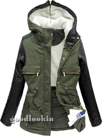 WINTER PARKA GO-START GREEN (CK639)