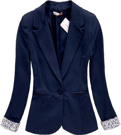 MADE IN ITALY DINNER JACKET NAVY BLUE (6097)