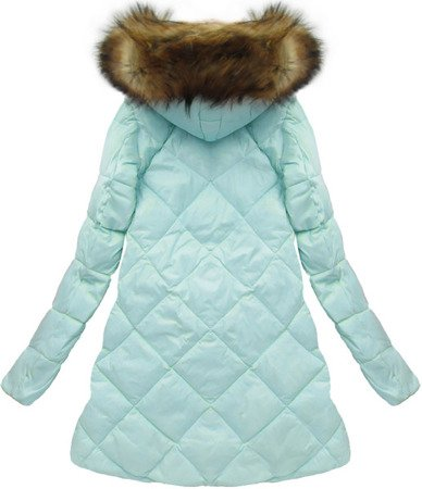 NATURAL DOWN QUILTED JACKET BABY BLUE (8070)