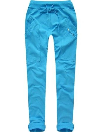 JERSEY CHINO TROUSERS TURQUOISE (6914)