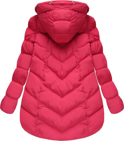 SHORT HOODED JACKET RED (W805BIG)