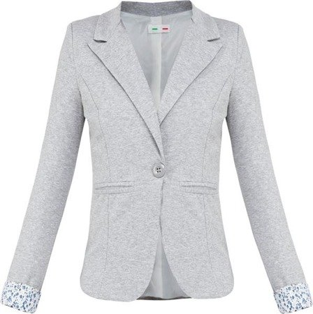 MADE IN ITALY DINNER JACKET GREY MELANGE (6097)