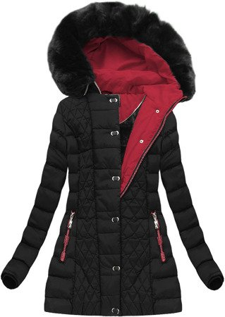 WINTER QUILTED JACKET BLACK (W669)