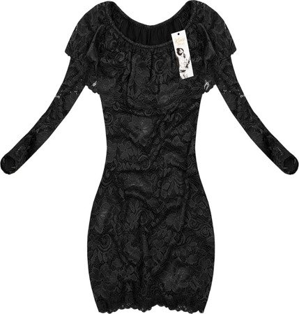 LACE DRESS BLACK (NICCOLO)