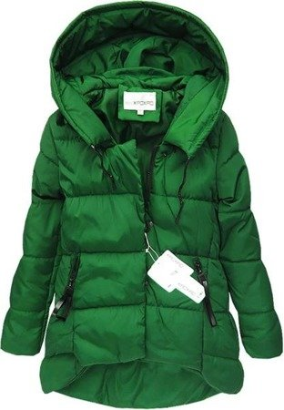 ASYMMETRIC BOTTOM JACKET GREEN (WI2010)