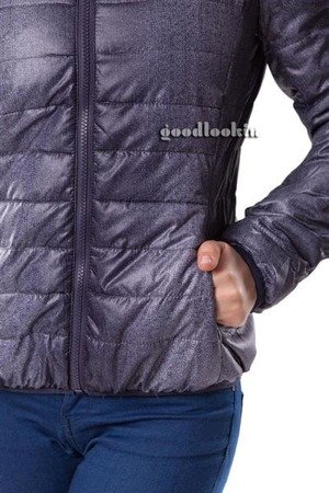 HIKISS JACKET NAVY BLUE MELANGE (15NU)