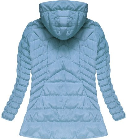HOODED JACKET BABY BLUE (W591TO)