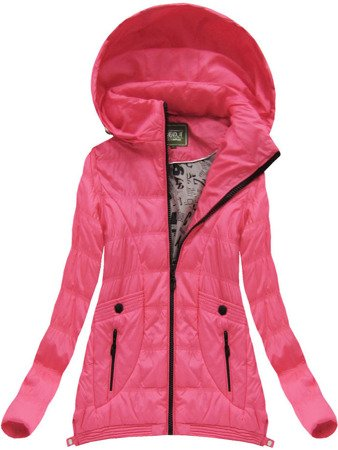 EXTENDED SIDES JACKET PINK (W717B)