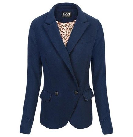 DOUBLE BREASTED DINNER JACKET NAVY BLUE (8106)