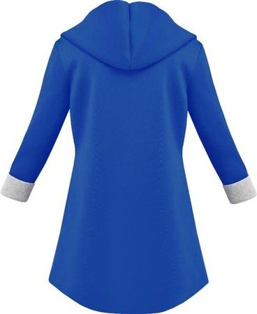 SWEETISSIMA HOODED BLAZER CORNFLOWER BLUE (8103-6)