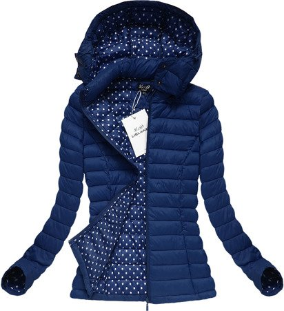 QUILTED JACKET NAVY BLUE (7112)
