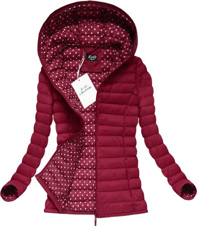 QUILTED JACKET RED (7115)