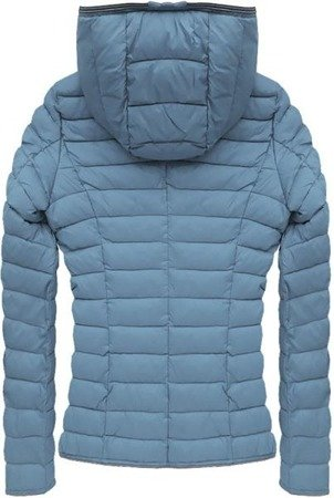 QUILTED JACKET BLUE-GREY (7105B)