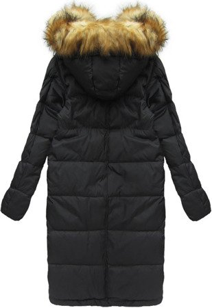 NATURAL DOWN WINTER COAT BLACK (8066)