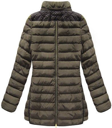 WARM HOODED JACKET BROWN (CX589)