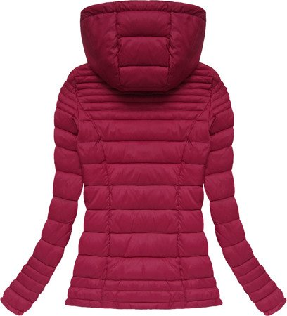 QUILTED JACKET WINE (7116BIG)
