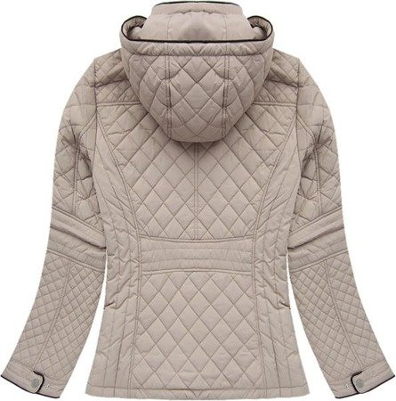 QUILTED JACKET BEIGE (201506)
