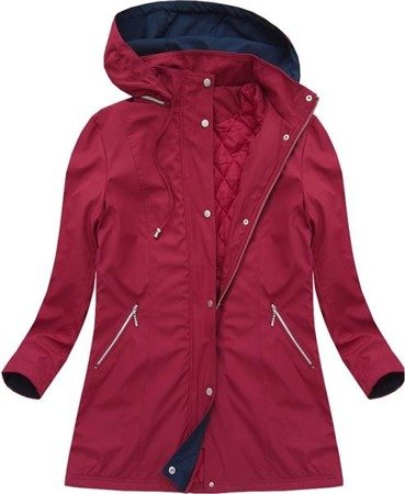 HOODED JACKET WINE (7198BIG)