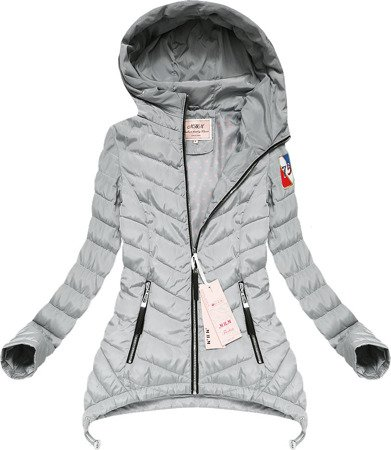 EXTENDED SIDE JACKET GREY (XW563X)