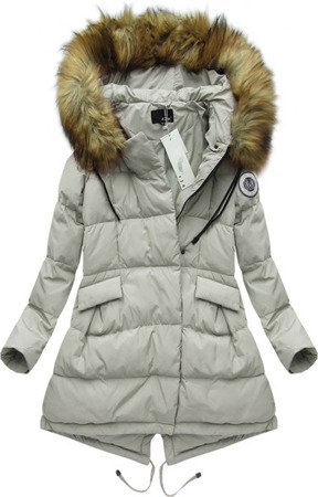 NATURAL DOWN WINTER JACKET GREY (8065)
