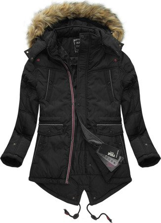 HOODED WINTER JACKET BLACK (777)