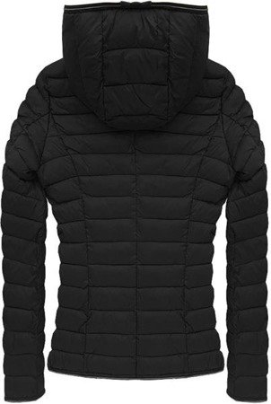 QUILTED JACKET BLACK (7105B)