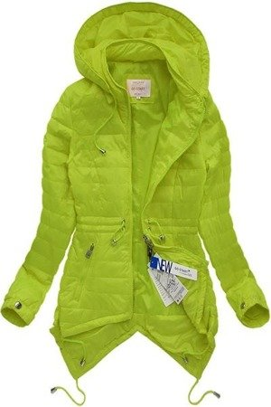 ASYMMETRIC BOTTOM JACKET LIME (5511)