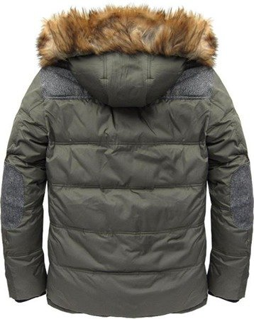 NATURAL DOWN WINTER JACKET KHAKI (5006)