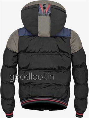GO-START WINTER JACKET BLACK+KHAKI (7505)