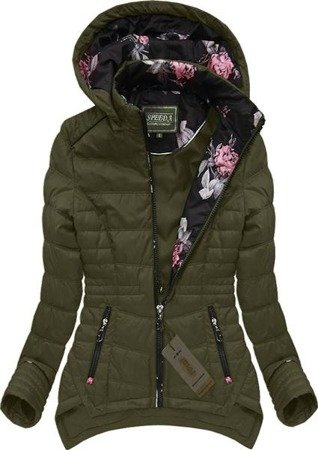 REVERSIBLE HOODED JACKET OLIVE (W707)
