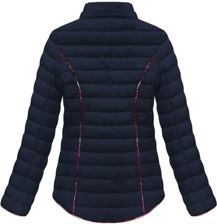 SHORT QUILTED JACKET NAVY BLUE (CX308W)