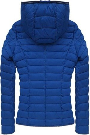 QUILTED JACKET BLUE (7105B)