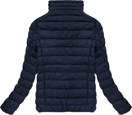QUILTED JACKET NAVY BLUE (B3535-15)
