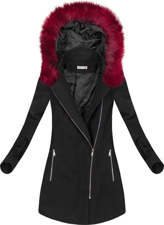 SHORT WINTER COAT BLACK (6257)