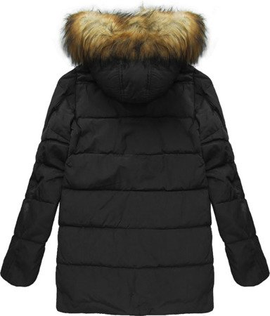 NATURAL DOWN WINTER JACKET BLACK (5014)