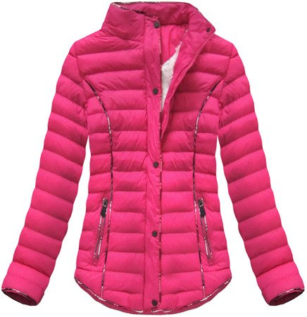SHORT QUILTED JACKET PINK (CX308W)