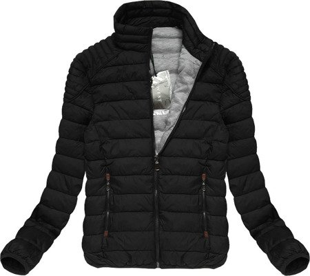 QUILTED JACKET BLACK (B3535-15)