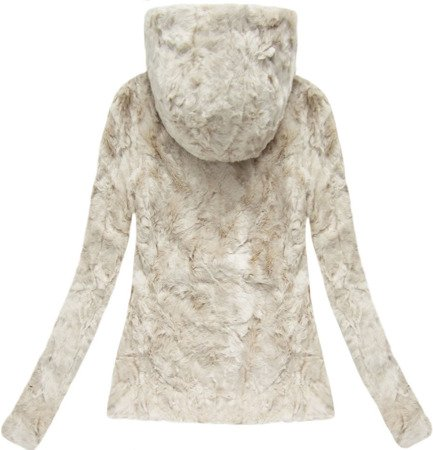 IMITATION FUR JACKET LIGHT BEIGE (7616)