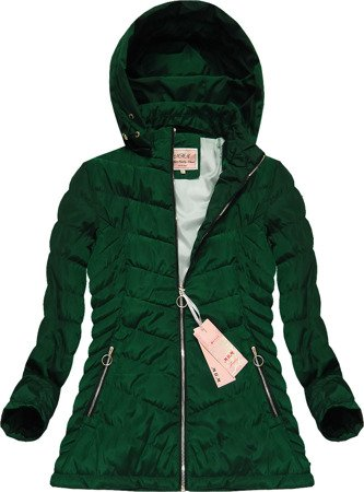 HOODED JACKET GREEN (W591TO)