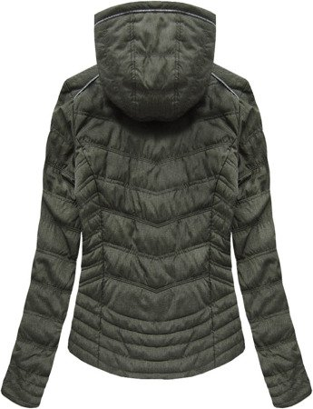 QUILTED JACKET KHAKI (XW701X)
