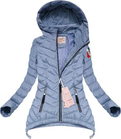 EXTENDED SIDE JACKET BLUE (XW563X)